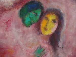 Cantique des cantiques V Chagall
