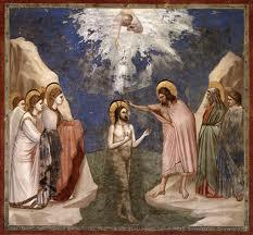 Baptême du Christ Giotto