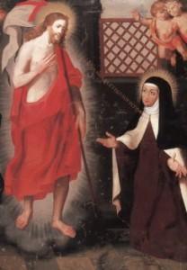 Sainte Thérèse d'Avila et Jésus
