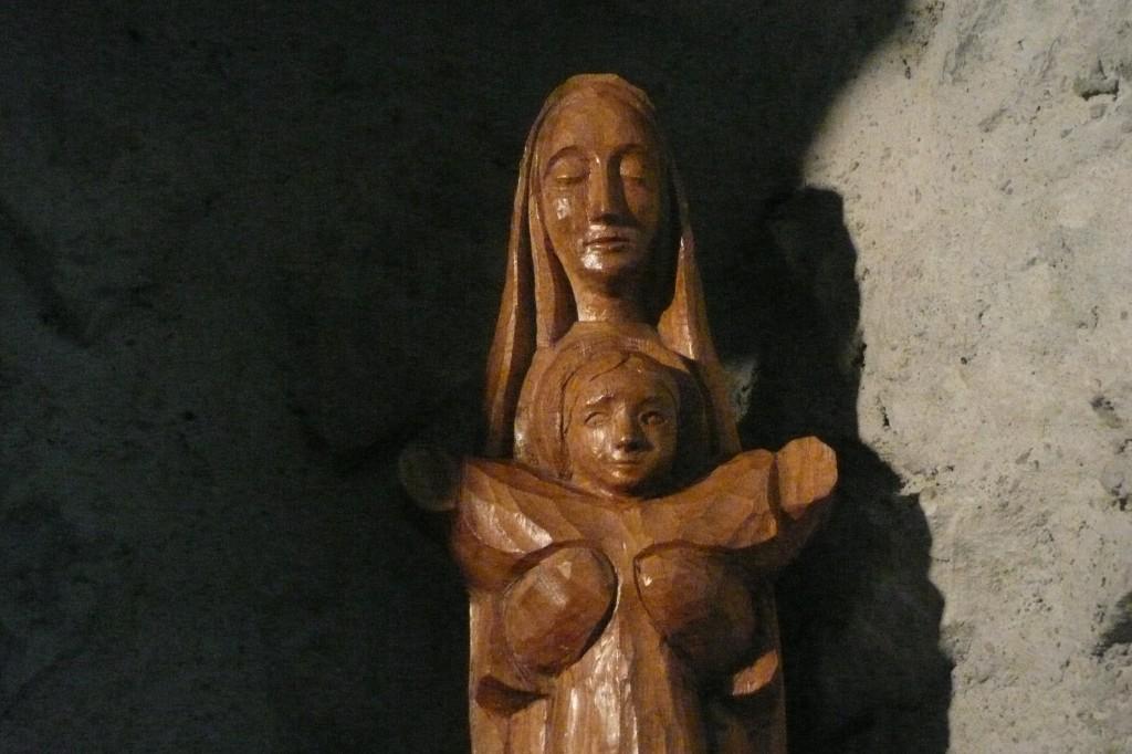 Vierge à l'Enfant à Tamié