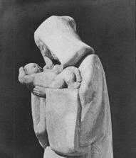 Vierge à l'Enfant Serraz Tamié