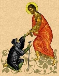 Jésus guérit un lépreux