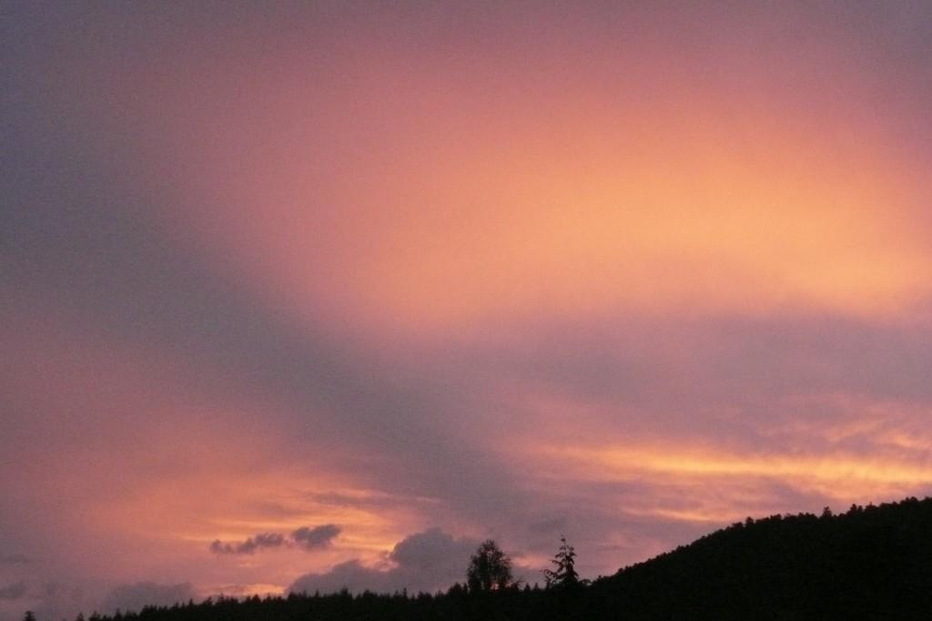 Ciel crépuscule
