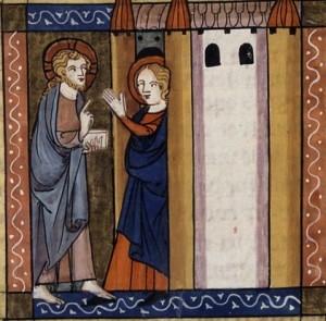 Jésus et sainte Marthe