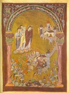 Jésus pleure sur Jérusalem